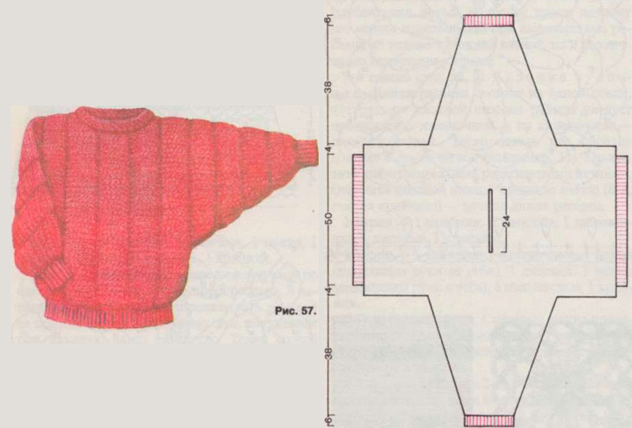 Рукав вязание на чулочных спицах
